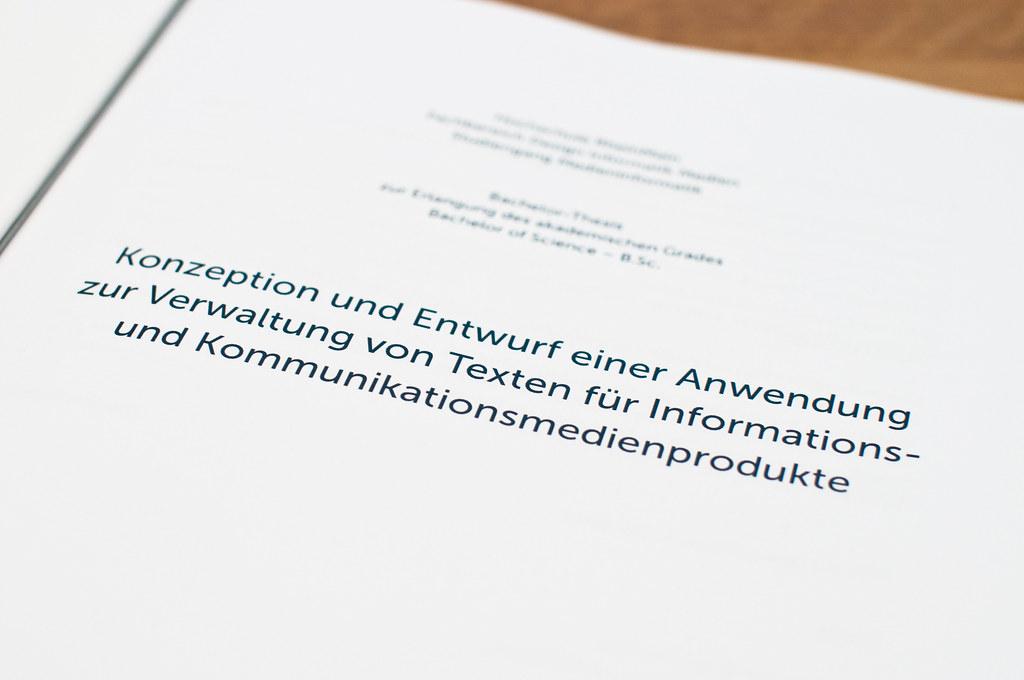 hsrm bachelor thesis