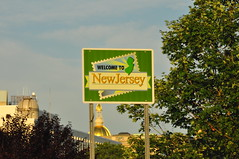 Welcome to New Jersey (Triborough) Tags: sign newjersey nj roadsign highwaysign mercercounty trenton