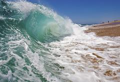Shorebreak. (cody is rad) Tags: ocean california ca blue beach water canon 350d rebel xt sand surf tube barrel wave wideangle surfing newport efs 1022mm wedge bodyboard shorebreak waterhousing waterphotography