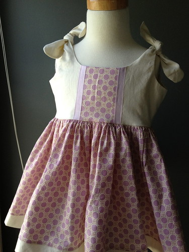 Itty Bitty Dress w. Ruffle Bum Bloomers 9-12 mos