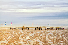 Cradles and yachts (larigan.) Tags: sand horizon tranquility recreation lowtide yachts sailboats englishchannel seasideresort lamanche bexhill cradles larigan phamilton gettyimageswants gettywants capturingenglishsummer