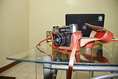 Opened from Afar (omar cruz) Tags: vintage forsale rangefinder fed 5c russianmade