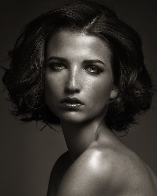 portrait photo - Sophie, Elite, New York by Oleg Igorin