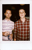Andrew Cook and Eric Halvorsen from A Rocket To The Moon (uhleentothe) Tags: summer portrait people polaroid concert tour photos laugh fujifilm laughter polaroids concerts instax instantphotos fujifilminstax iloveboobies andrewcook arockettothemoon fujifilminstax7s erichalvorsen instax7s fujifilminatx fujfiim andrewstephencook