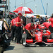 Scott Dixon in pit lane - Friday practice at the Honda Indy Toronto