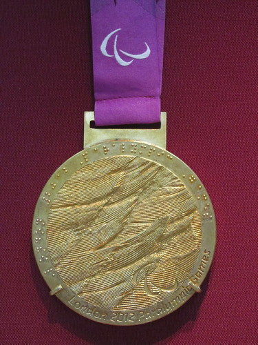 London 2012 Paralympic Gold medal front