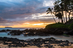 Makena Cove Sunset (Shawn McGrath) Tags: sunset maui secretcove makenacove