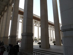 National Museum of China: architecture (sftrajan) Tags: china architecture beijing muse museo   peking chineseart bijng   nationalmuseumofchina  chineseceramics  panasoniclumixdmczs8 zhnggugujibwgun chinesischesnationalmuseum musenationaldechine