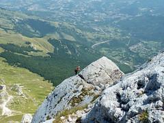 Alpinismo Gan Sasso - via Bachetti-Fanesi
