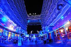 Allure of the Seas Boardwalk (Infinity & Beyond Photography) Tags: ocean cruise blue light night photos cruiseship royalcaribbean stern liner boaedwalk allureoftheseas