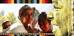Donne etiopi (yrotori2) Tags: voyage africa travel face photoshop women faces outdoor photoshopped persone donne afrika viaggio visage afrique volti etiopia visages volto allaperto africanwomen