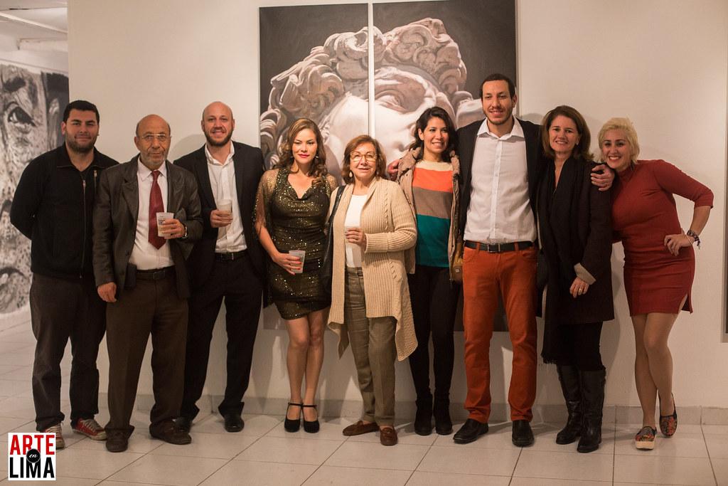 """""""De la Calle a la Galería"""" de David Rejas en CC Ricardo Palma."""