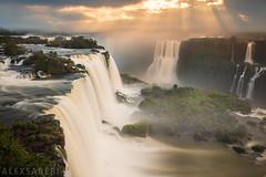 Iguacu Falls in Brazil (alex saberi) Tags: iguacufalls iguazufalls iguassufalls waterfalls waterfall jungle paradise landscape brazil argentina brasil parana cachoeira wow