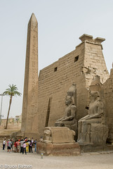 090504 Luxor Temple-02.jpg (Bruce Batten) Tags: monumentssculpture trees locations trips occasions subjects egypt businessresearchtrips plants people luxor eg