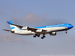 Aerolineas Argentinas, Airbus A340 > LV-CSE (FCO/LIRF) 20.08.2016 (Ernesto Imperato) Tags: aerolineasargentinas argentina airbus a340 airbusa340 lvcse fiumicino leonardo davinci roma buenosaires canon eos 7d fco lirf