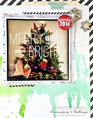 merry & bright (feet up) layout - photo and layers, watermark (samanthamann11) Tags: lawnfawn scrapbook christmas watercolor distressinks heatembossed letitsnow peacelovejoy snowybackdrops