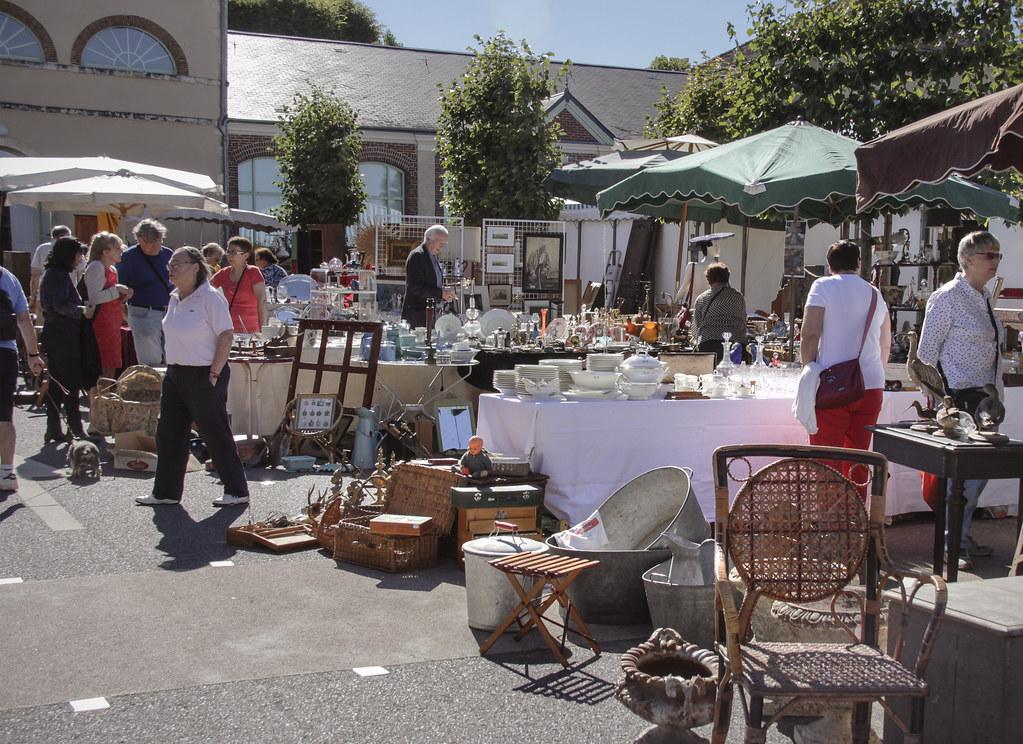 Brocante En Basse Normandie #7: Bellême Brocante Market (Kotomi_) Tags: Belleme Normandie Normandy Brocante  Antiques Market Fair