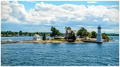 1000 Islands (Atif Rao) Tags: tree cloud sky lighthouse light ocean islands 1000islands vacation water 1685 5100 nikon