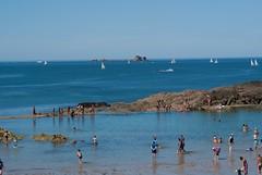 Un Tour des Remparts (saintmalojmgphotos) Tags: saintmalo 35400 35 plage remparts intramuros intra bretagne illeetvilaine