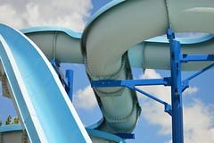 water slides (brown_theo) Tags: heath pool ohio water slide slides park aquatic center