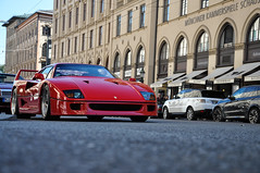 One awesome day! (Tim Riegelein) Tags: ferrari f40 ferrarif40 munich muc minga maximilianstr photography nikon nilond5000 d5000 nikonphotography car supercar sportscar classic ferraribig5