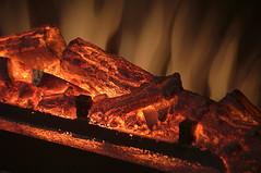 false fire (Justin van Damme) Tags: false fire fake place flames coals hearth fireplace