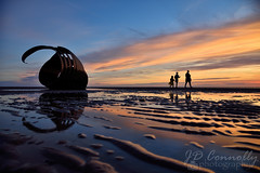 Mary's Shell (Jason Connolly) Tags: marysshell theshell cleveleys cleveleyssunset cleveleysbeach cleveleyslandscape lancashire lancashirelandscape lancashirecoastline lancashiresunset thefyldecoast thefylde fyldecoast fylde fyldecoastsunset