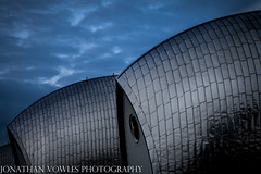 Thames Barrier (Jonathan Vowles) Tags: dusk barrier flood woolworth thames london