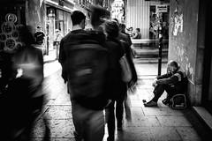 Alone (MrSbPier) Tags: povert alone uomo mendicante elemosina verona