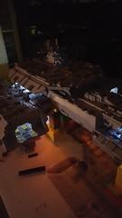 SHIPtember: Finished. Fighter bay lights. (LegoSamBo) Tags: daedalus lego stargate shiptember