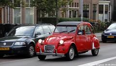 Citron 2CV 1986 (XBXG) Tags: ph84nz citron 2cv 1986 citron2cv 2cv6 spcial 2pk eend geit deuche deudeuche haarlem nederland holland netherlands paysbas vintage old classic french car auto automobile voiture ancienne franaise france frankrijk