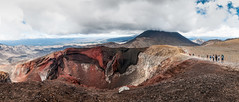 Red Crater (catrall) Tags: red crater redcrater newzealand nzl nz 2016 nikon d90 clouds vulcano tongarironationalpark mountngauruhoe mtdoom mordor outdoor hiking