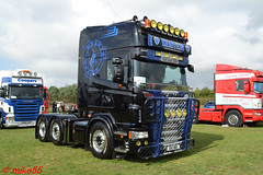 Scania R 'Martins' reg B16 MWX (erfmike51) Tags: scaniar euro6 artic truck v8 lorry martins swedefest2016