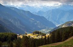 Luce mattutina (Gio Case) Tags: aosta valledaosta aostavalley brusson estoul mountain landscape clouds light morning