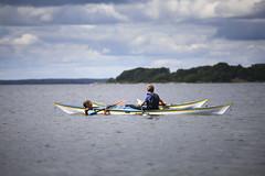 Kajak (Anders Sellin) Tags: hav johan kajak skrgrd svartlga sverige swede sweden archipelago baltic kurs sea sommar sport stockholm trning vattenwater stersjn