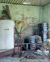 (.tom troutman.) Tags: mamiya 7 film analog 120 6x7 kodak portra 400 mediumformat 50mm abandoned industrial nc