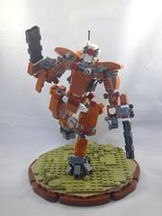 Dynamic pose (donuts_ftw) Tags: tau battlesuit mecha mech moc warhammer40k warhammer40000 space scifi