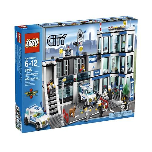 乐高 LEGO 城市系列 Police Station 7498 警察局.39