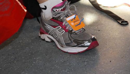 tag laces londonmarathon runningshoe