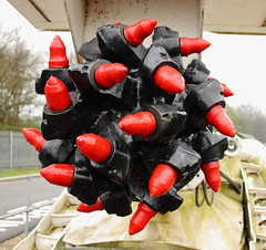 Dosco Roadheader Mk 2a (Anita K Firth) Tags: red white black machinery cutting wakefield ncb coalminingmuseum dosco caphouse roadheader