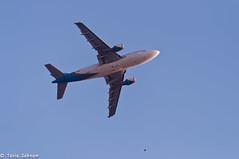 Flying Plane (Tania Sabnam) Tags: blue sky plane flying planeflying flyingplane