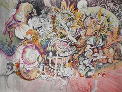 Schizophrenia_small (LouisBraquet) Tags: original art pen ink sketch drawing originalart surrealism dream surreal fantasy surrealist dreamlike mythology unconscious penandink jungian freudian hallucinogenic psychoanalysis schizophrenia fantasticrealism subconscious psychoanalytical mythologicalart modernsurrealism modernsurrealist unconsciousimagery