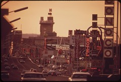 Las Vegas street scene, May 1972