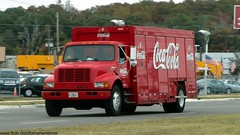 Coca-Cola - International 4700 (FormerWMDriver) Tags: truck beverage coke international delivery soda cocacola ih ihc 4700