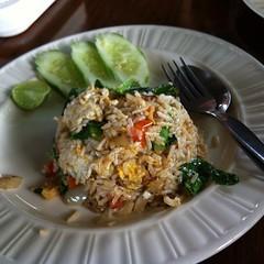 ข้าวผัดปลาสลิด | Fried Rice With Crispy-Fried Pilot Fish @ บ้านศาลาไทย | Baan Sala Thai