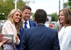 James Beattie, Craig Charles The wedding of Irish footballer Glenn Whelan to Karen Byrne held at St. Philomena's Church in Palmerstown Dublin, Ireland