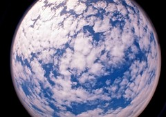 Sky moon (Dia Sartori) Tags: camera blue brazil sky cloud white film azul brasil analog 35mm toy lomo lomography analgica andrea dream cu fisheye cameras planet nuvens filme nuvem mundo andra planeta deia sartori dia alvares pertodocu andreasartorialvares