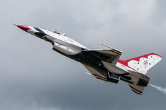 Low Speed Pass (benkuhns) Tags: aircraft jets hill performance airshow f16 planes f22 thunderbirds redbull mig 2012 p51 hillafb hillairforcebase hafb fj4 benkuhns warriorsoverwasatch2012