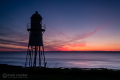 Fire over Wales (images through a lens) Tags: uk lighthouse europe unitedkingdom britain portishead somerset severn severnestuary blacknore