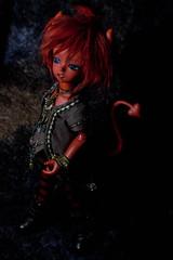 Tanebi (Bazangi) Tags: red doll tail horns dollfie soom teeny abjd gem yosd trachy tanebi